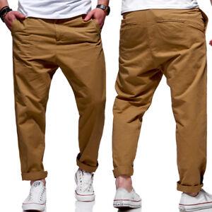 Jack-amp-Jones-Jeans-Hose-JEFF-Trendy-Marco-ANTI-FIT-Loose-Chinohose-Beige-NEU