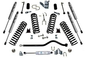 0714 Jeep Wrangler 2 Inch Lift Kit Fox Racing Shocks Only Oem
