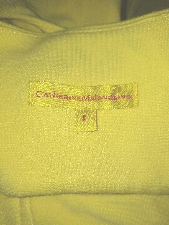Catherine Malandrino Bright Yellow Dress Size S  - image 7