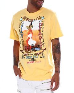 Born-Fly-Yellow-Namib-T-Shirt