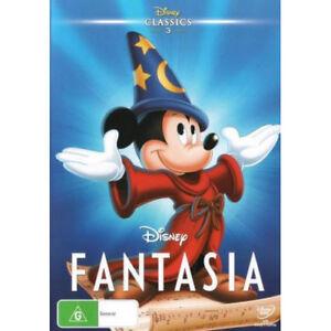 Fantasia-Disney-Classics-DVD-NEW-Region-4-Australia