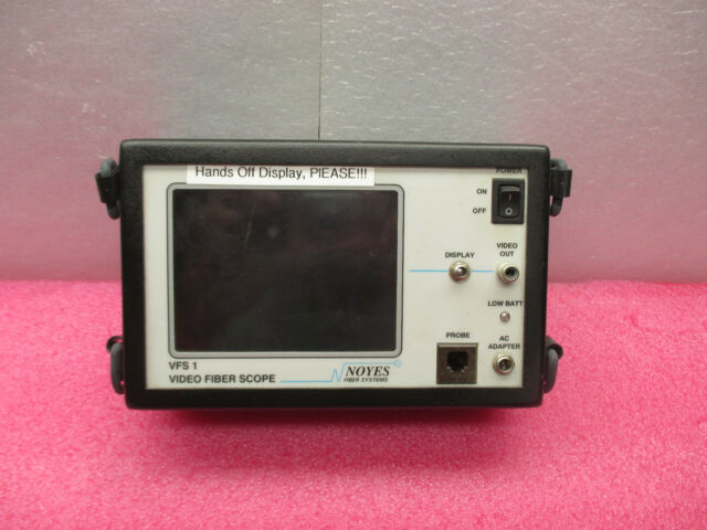 Noyes Fiber Systems VFS 1 Video Fiber Scope * VFS1 Display