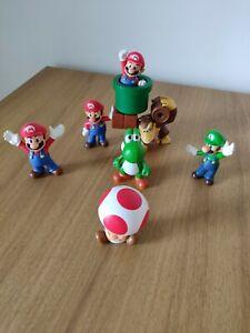Super-Mario-Bros-Nintendo-Mcdonalds-Happy-Meal-Toys-and-Figures-Bundle-7x