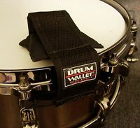 Drums The Drum Wallet Ez On/off Muffler / Dampener For Snare Drums And Toms
