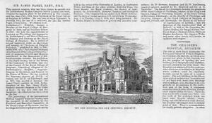 1881-Antique-Print-SUSSEX-BRIGHTON-New-Hospital-Sick-Children-09
