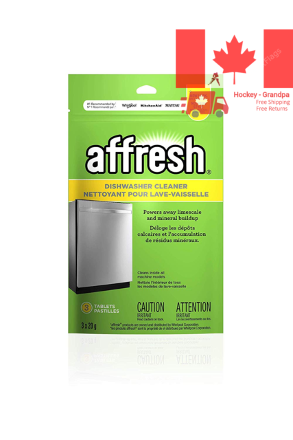 Affresh Dishwasher Cleaner Tablets 60g