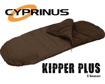 Modesto Cyprinus Campeggio Kipper + 5 Stagione Sacco A Pelo-le Nostre Più Sincere-mostra Il Titolo Originale Garanzia Al 100%