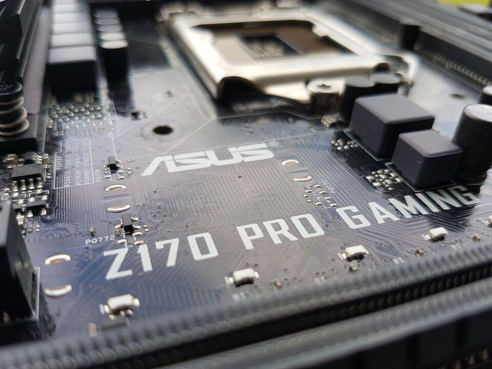Bundkort, ASUS, 170 Pro Gaming