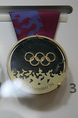 Lillehammer Norway 1994 Olympic Gold Medal with ribbon!