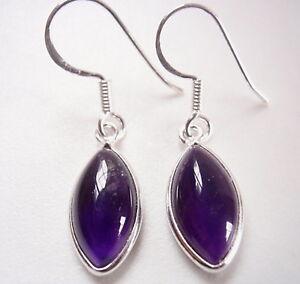 Amethyst-Marquise-925-Sterling-Silver-Dangle-Earrings-Corona-Sun-Jewelry