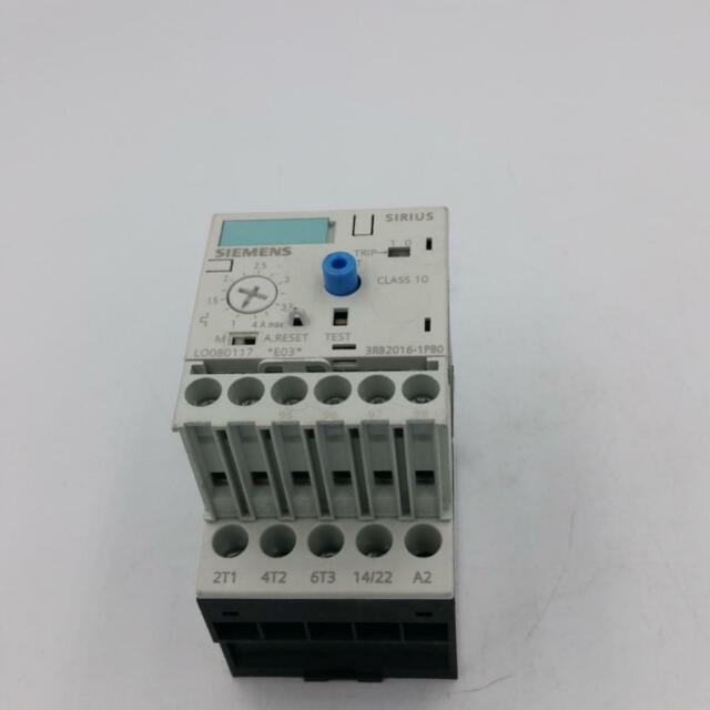 ÜBERLASTRELAIS Siemens 3RB2016-1PB0