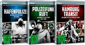 20-DVDs-HAFENPOLIZEI-POLIZEIFUNK-RUFT-HAMBURG-TRANSIT-IM-SET-NEU-OVP