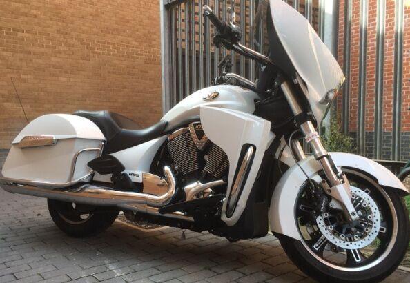 1 nuevo Par Clásico motocicleta Gth motocicleta Clásico de la policía Trofeo Botas Back Zip [ 04072 ] a766b8