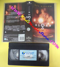 VHS film SIGNS 2003 Mel Gibson M.Night Shyamalan TOUCHSTONE VS 4992(F100) no dvd