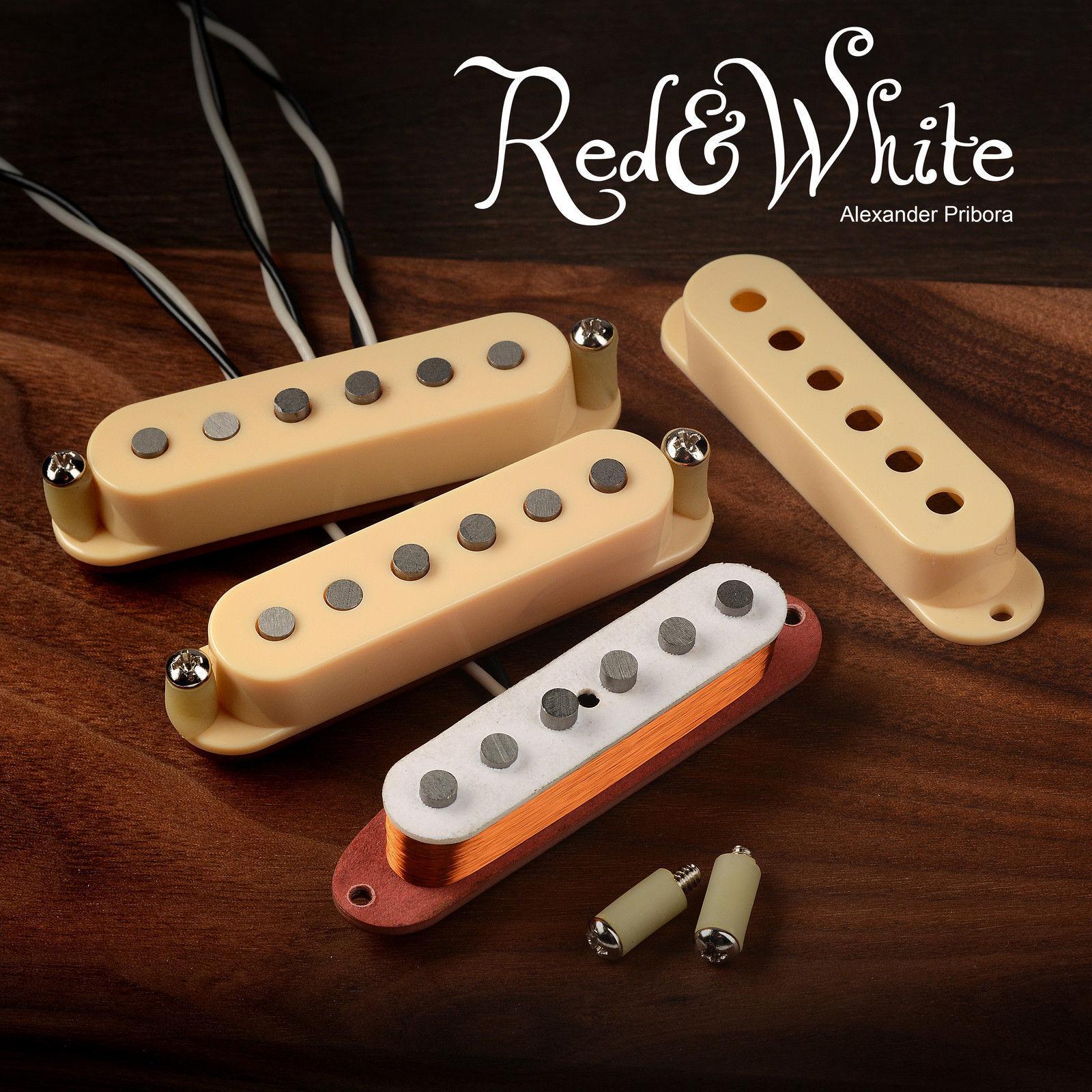 Stratocaster Pickups fit Fender Stratocaster Fullerton R&W style Alnico 5 set