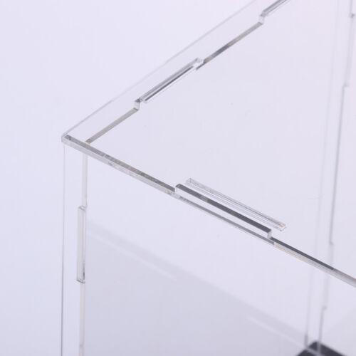 "9x4x4/"" Transparent Acrylic Display Case Dustproof Assembled Model Show Box"