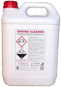 ENGINE-CLEANER-5-Lt-DETERGENTE-CONCENTRATO-LIQUIDO-ALCALINO-AZIONE-SOLVENTE