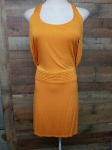 BCBG-GENERATION-KRK6D587-Orange-Dress-Women-039-s-Size-4-New-Without-Tags