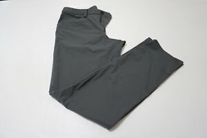 Lululemon-ABC-SOlid-Gray-Casual-Mens-Pants-Sz-34