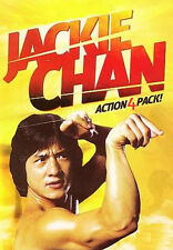 Jackie Chan Action-4-Pack (DVD New) Cub Tiger*Heroine*Young Tiger*Mission Force