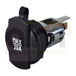 2 x 12V 24V 20A Sigaro Sigaretta Accendino Alimentatore Auto Accessorio Socket COPPIA