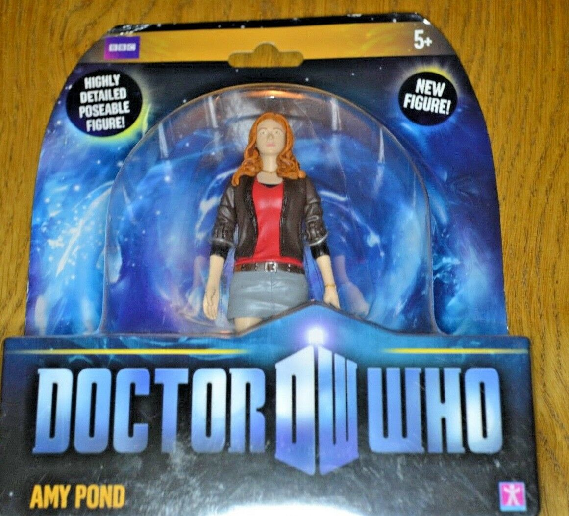 Modern Jahr Dr Who Wirkung Figure Amy Pond; Factory Meerled