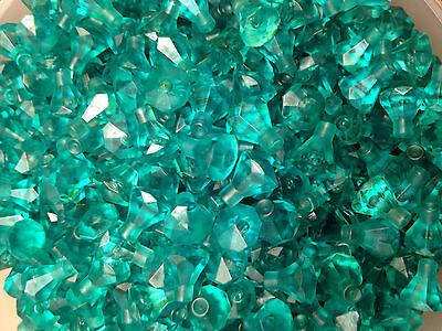 Turquoise Clear Translucent Jewel Gem Diamond 1x1-25 Or 50 Pieces LEGO 30153