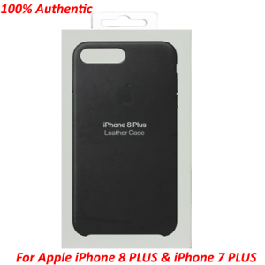 apple iphone 8 leather case black