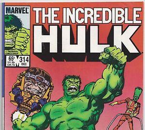 The Incredible Hulk #314 ~ NEAR MINT NM ~ 1985 MARVEL COMICS