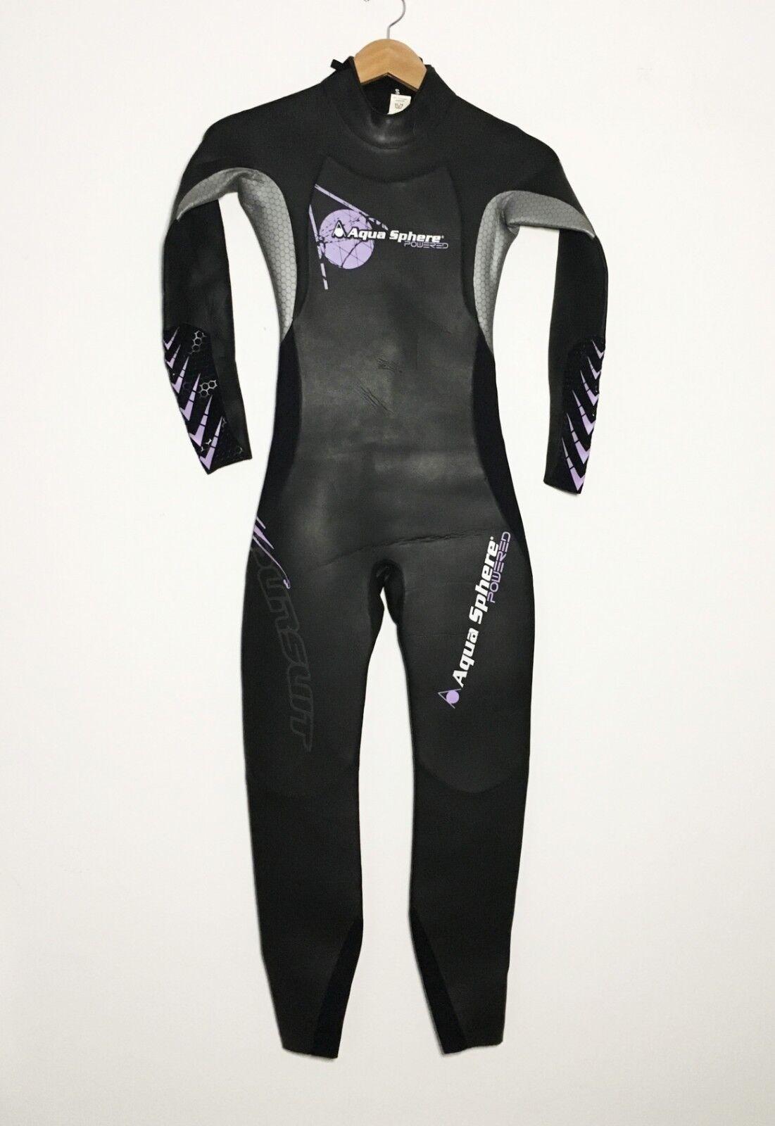 Aquasphere Womens Triathlon Wetsuit Size Small S Full Suit
