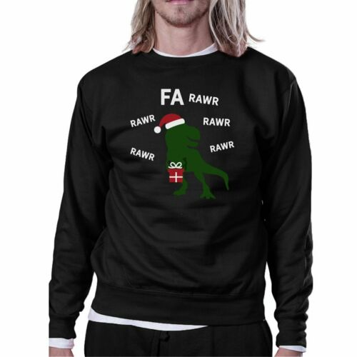Details about  /Fa Rawr Rawr Rawr T-rex Christmas Pullover Fleece Humorous Gifts