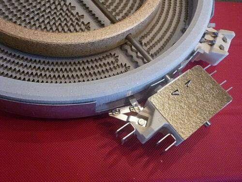 Bosch Nr 267403 oder 086661  356337 Zweikreis Ceran Kochplatte 2200W Neuware