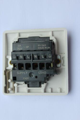"""20 A DP Switched Fused Connection Unit MK K1060 B Neon marqué /""""Sèche-linge/"""""""