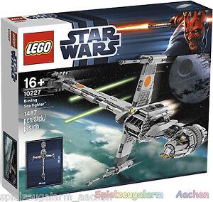 NEU-LEGO-STAR-WARS-10227-B-Wing-Starfighter-SPACE-SHIP-BINSB