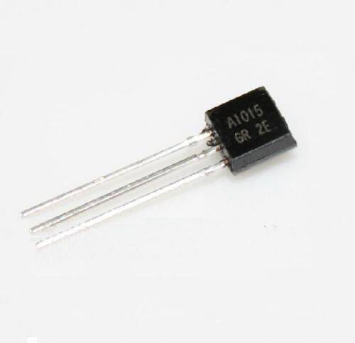 100PCS 2SA1015 A1015 TO-92 PNP 50V 0.15A Transistor New CA