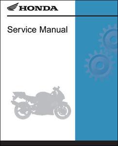 honda 2011 2013 cbr250r ra service manual shop repair 11 2012 12 13 rh ebay com 2012 CBR250R Top Speed 2012 cbr250r service manual pdf
