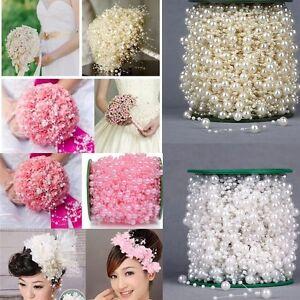 5M-Wedding-Pearls-Acrylic-Bead-String-Beads-DIY-Garland-Party-Craft-Decoration