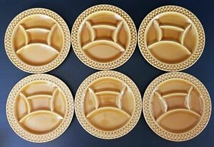 Six Piatto Fonduta IN Ceramica Di Sarreguemines Rif. 302898028849