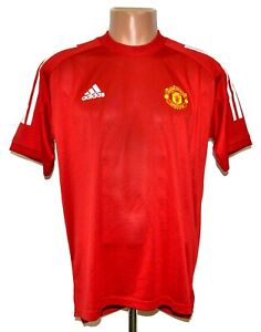 Manchester United 2018/2019 Training Football shirt jersey Adidas taglia M adulto