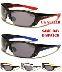 Stylish Wrap Around X-Loop Mens Womens Sports Fashion Sunglasses
