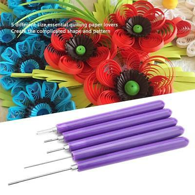 5pcs Multifunction Quilling Slotted Tool Paper Quilling Scrapbook Craft Set Kits