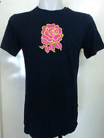 England Rugby Navy Uglies Pink Rose Tee Shirt By Canterbury Size Small Brand