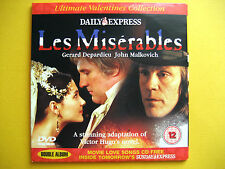 LES MISERABLES,  A DAILY EXPRESS NEWSPAPER PROMOTION  (1 DVD)