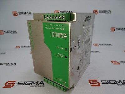 PHOENIX CONTACT QUINT-PS-3X400-500AC//24DC//10 2938617 POWER SUPPLY