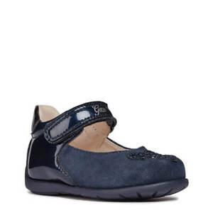 moderno y elegante en moda Descubrir elegante en estilo Detalles de 💙 Bailarina Niña Azul Marino GEOX 💙 Mercedita Bebe Zapato de  vestir 20 21 22