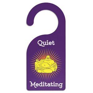 Meditation & Namaste Door Hanger