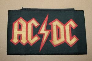 AC-DC-Logo-Armbinde-Armlet-Vintage-70-039-s-80-039-s-ultra-rar-rare