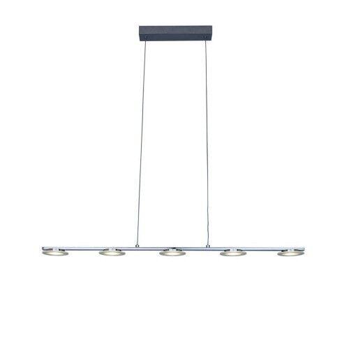 Tube fluorescente LED Sompex Wing Lampe suspendue Suspension Luminaire chrome