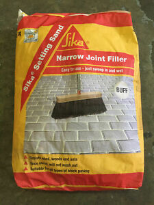 Details about Sika Setting Sand | Narrow Joint Filler | Jointing Compound |  Buff | 20kg