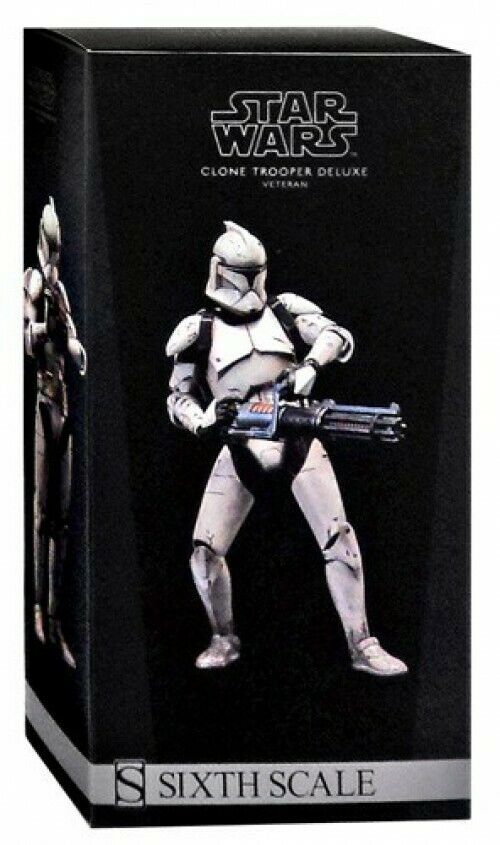 Militaries of Star Wars sixième Scale Veteran Clone Trooper Deluxe Action Figure